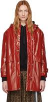 Burberry Red Cramond Coat