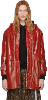 Burberry Red Cramond Coat