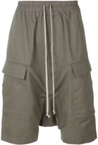 Rick Owens drop-crotch pocket shorts - men - Cotton - 46