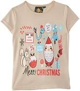 Last Man Standing Kids Merry Christmas T-Shirt,(Manufacturer Size:X-Small)