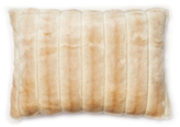 Beaver Faux Fur Pillow