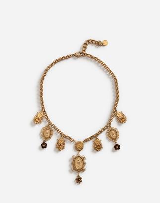 Dolce & Gabbana Short Necklace With Decorative Details