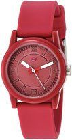 Skechers Women's 'The Rosencrans Midsize' Quartz Plastic and Silicone Casual Watch, Color:Pink (Model: SR6084)