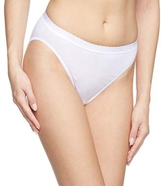Calida Women's Bikini White white,(Manufacturer size: L)