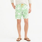 "J.Crew 9"" Board Short In Tropical Floral"