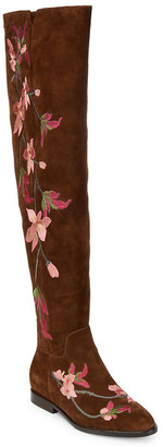 Ash Jess Embroidered Over The Knee Boot