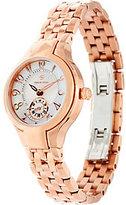 Philip Stein Teslar Rosetone Steel Bracelet Classic Round Mini Watch