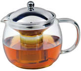 Avanti NEW Ceylon Borosillicate Glass Teapot with Stainless Steel Infuser, 1.25L
