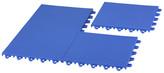 Cortesi Home EZ-Floor Interlocking Plastic Tile Flooring