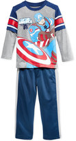 Nannette Little Boys' Avengers Knit Pullover and Pants
