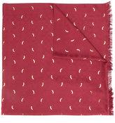 Coach wrap scarf - women - Silk/Cotton - One Size