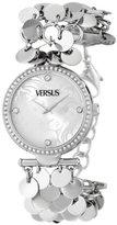 Versus By Versace Women's SGW050013 Paris Lights Analog Display Japanese Quartz Silver Watch