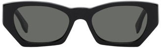RetroSuperFuture Black Amata Rectangle Sunglasses