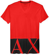 Armani Exchange Men's Logo Hem Graphic-Print T-Shirt