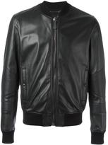 Philipp Plein Grenade bomber jacket - men - Sheep Skin/Shearling/Viscose - L