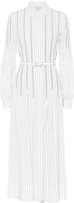 Gabriela Hearst Chelsea cotton shirt dress