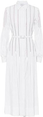 Gabriela Hearst Chelsea cotton shirt dress