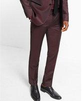 Express slim photographer wool blend tuxedo pant