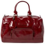 Longchamp Legende Verni Patent Leather Satchel
