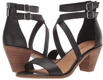 Lucky Brand Ressia (Black) Women's Shoes