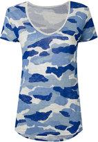 Majestic Filatures camouflage T-shirt - women - Linen/Flax - 4