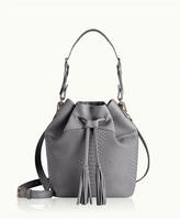 GiGi New York Jenn Bucket Bag Embossed Python
