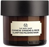 The Body Shop Chinese Ginseng & Rice Clarifying Polishing Mask, Expert Facial Mask, Paraben Free,2.6 Oz.
