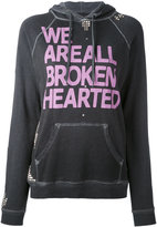 Freecity We Are All Broken Hearted hoodie - women - Cotton - S