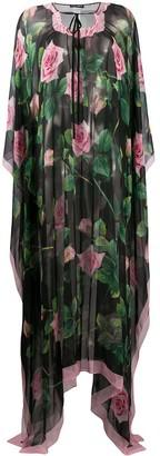 Dolce & Gabbana Floral Long Kaftan