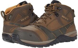 Irish Setter Rockford 83422 Waterproof Non-Metallic Safety Toe (Brown) Men's Boots