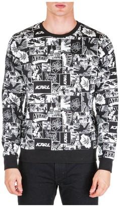 Karl Lagerfeld Paris Printed Sweater