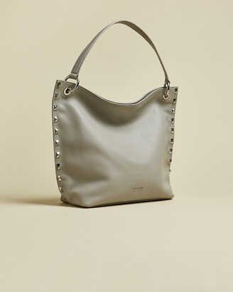 Ted Baker JESIEE Leather studded hobo bag