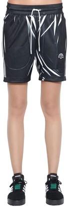 Adidas Originals By Alexander Wang Aw Printed Track Shorts