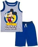 Disney Disney's Mickey Mouse Toddler Boy Ringer Graphic Tank Top & Shorts Set