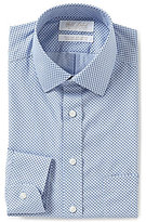 Roundtree & Yorke Gold Label Non-Iron Slim-Fit Spread-Collar Printed Dress Shirt