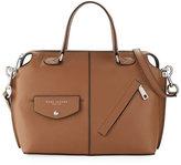 Marc Jacobs The Edge Leather Satchel Bag, Oak