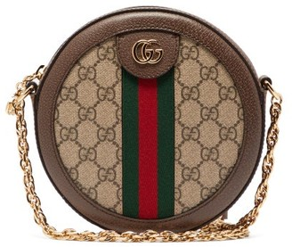 Gucci Ophidia Gg Supreme Cross-body Bag - Grey Multi
