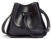 3.1 Phillip Lim Mini Soleil Leather Bucket Bag - Black