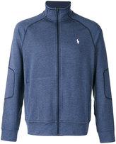 Polo Ralph Lauren zipped funnel neck cardigan - men - Polyester/Spandex/Elastane/Viscose - M