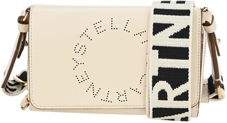 Stella McCartney Stella Logo Wallet With Shoulder Strap