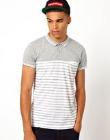 Diesel Polo Shirt Stripe Print