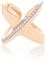 Antonini Siracusa X Ring in Yellow Gold