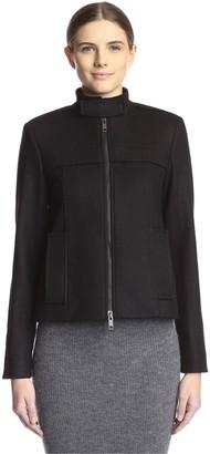 Les Copains Women's Zip Front Jacket