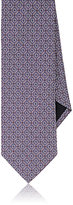 Barneys New York MEN'S CIRCLE-PATTERN SILK NECKTIE