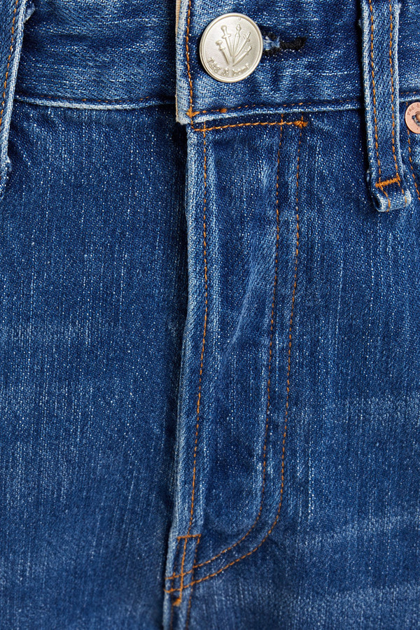 Thumbnail for your product : Rag & Bone Cropped Faded High-rise Straight-leg Jeans