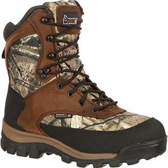 """Rocky Core Comfort 8"""" 800g Insulated Boot 800g 08 Mossy Oak Infinity"""