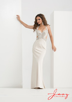 Jasz Couture - 5625 Dress in Champagne