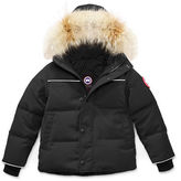 Canada Goose Kids' Snow Owl Parka w/ Removable Fur Trim, Size 2T-7