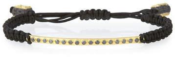 Armenta 18k Black Diamond Bar Bracelet