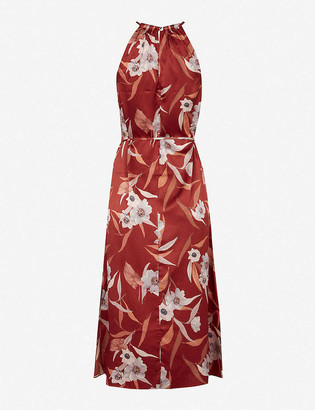 Ted Baker Floral-print woven maxi dress